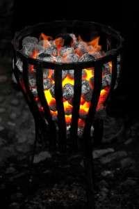 warm-fire-outside